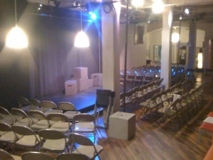 24 Hour Plays: the Stage is Set