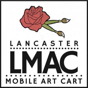 Lancaster Mobile Art Cart